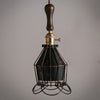 vintage industrial ceiling cage lamp kitchen light fixtures