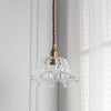 Crown Glass Lamp