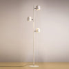 modern large white floor lamp