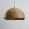 large bamboo and wood hanging lamp home decor