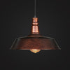 brown vintage industrial pendant lamp kitchen ceiling light fixtures