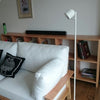 simple modern design white stand lamp home decor