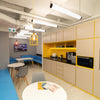 colorful lighting office decoration interior design