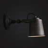 vintage industrial black wall lamp