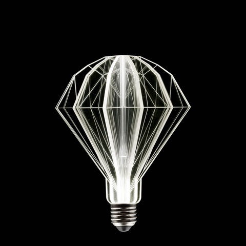 modern diamond URI LED light bulb home decoration interior