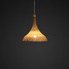 bamboo dome ceiling lamp