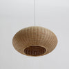 sphere modern bamboo wood pendant lighting home decor