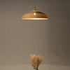 modern bamboo wood hanging lamp home decor