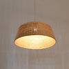 Large Handcrafted Bamboo Pendant Lamp interior design
