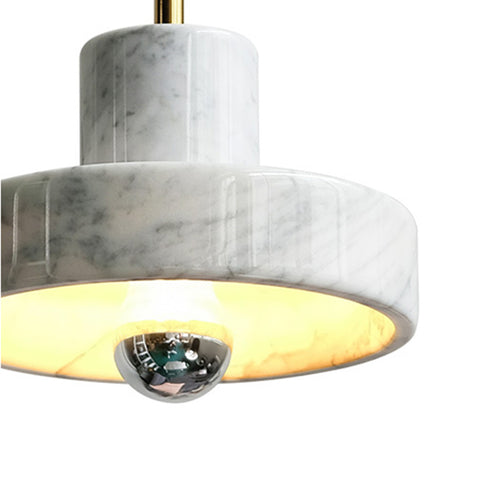 grey marble pendant lamp modern home decoration