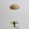 sphere modern bamboo wood hanging lamp