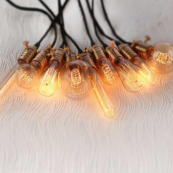vintage decorative edison bulbs pendant