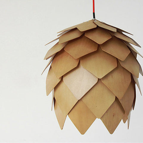 modern wood pendant design light interior