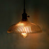 vintage industrial glass ceiling lampshade restaurant decoration