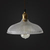 vintage industrial glass pendant lampshade kitchen pendants