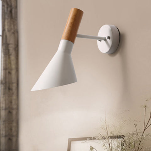 modern white wall sconce Scandinavia home decoration Hong Kong