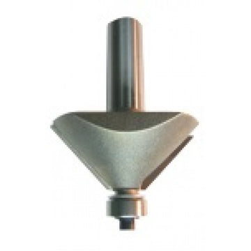 Dimar 102RX-X Series Chamfer Bits with Ball Bearing Guide, 2 Flutes