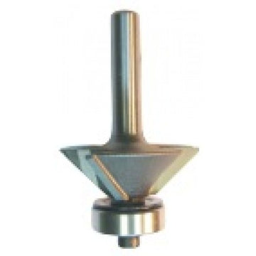 Dimar 102RR4-X Series Bevel Trim Bits with Ball Bearing Guide, 3 Flutes