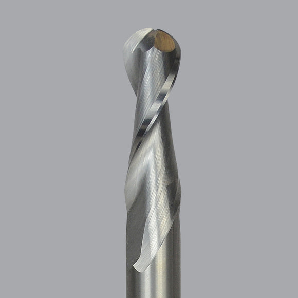 Onsrud 52-200B/BL Series Solid Carbide Upcut Spiral Ball Nose Router Bit