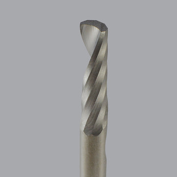 Onsrud 62-700 and 62-750 Series: Solid Carbide Downcut Spiral O Flute Router Bit, SOFT PLASTIC