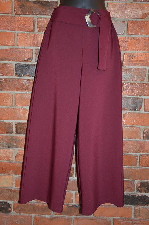 Wide Bottomed Dress Pants Made in Italy