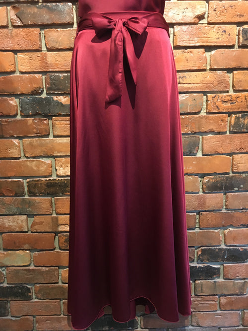 Long Silky Skirt Made in Italy