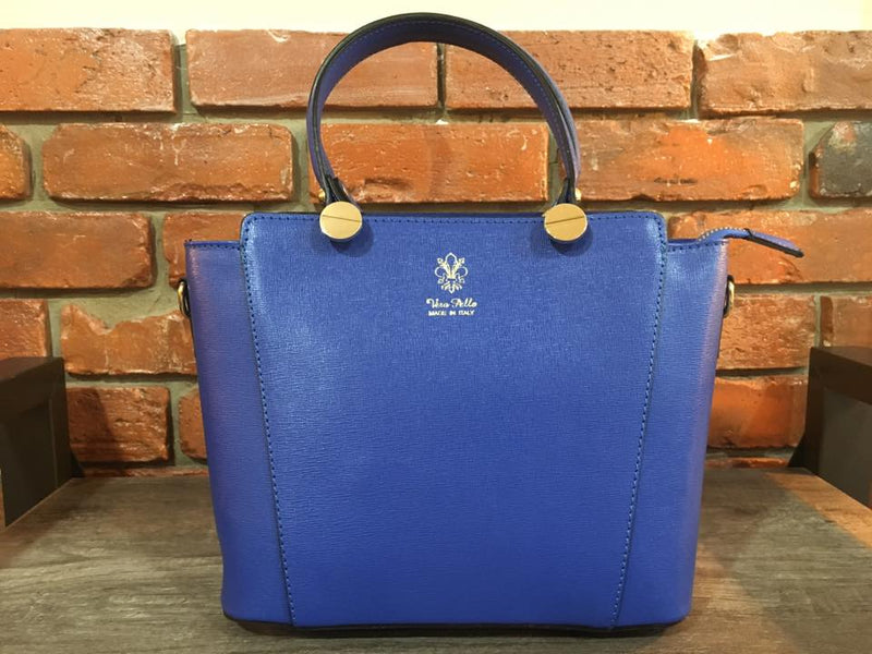 Vera Pello Leather Purse Made in Italy