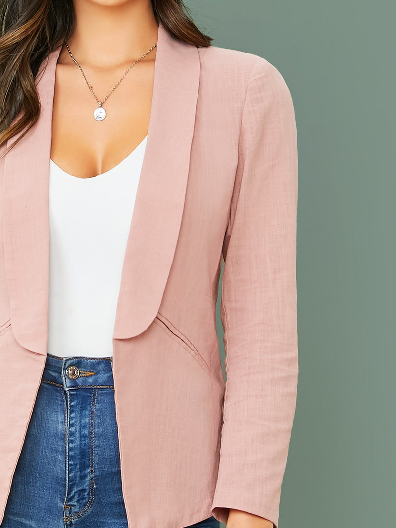Pink Blazer Screen