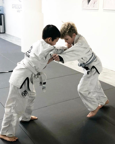 Kids GGJJ Gi - White