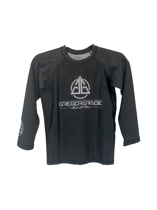 Kids Rashguard - Long Sleeve - Black