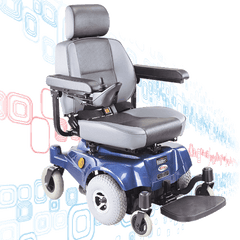 Mid-Wheel Power Wheelchair