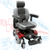 Image of Mid-Wheel Power Wheelchair