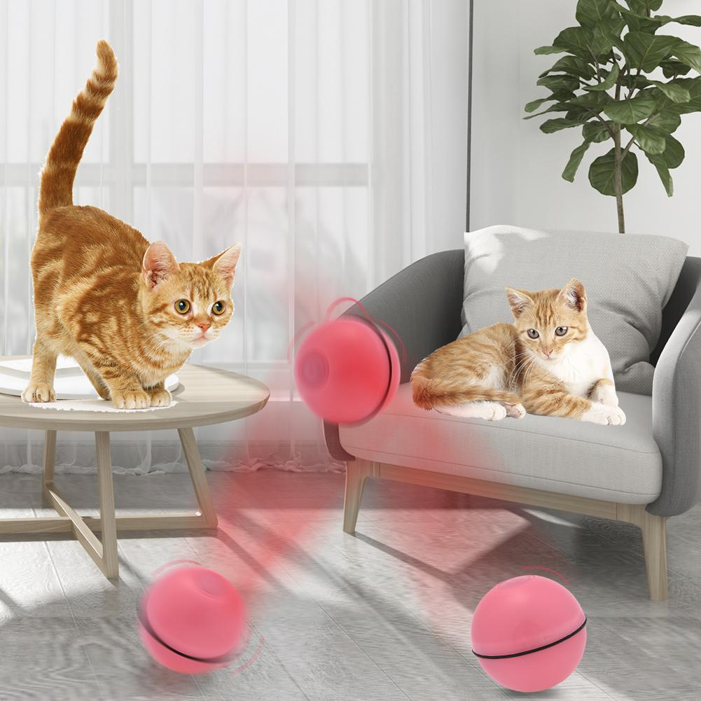 Smart Jumping Ball USB Electric Pet Toy