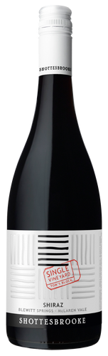 Shottesbrooke SIngle VIneyard Series 'Tom's Block' Blewitt Springs Shiraz, McLaren Vale