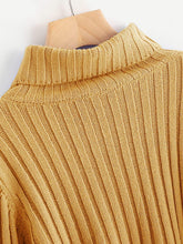 Load image into Gallery viewer, Rib Knit Fluted Sleeve Sweater