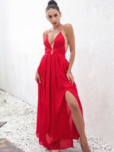 Load image into Gallery viewer, Slit Front Maxi Dress