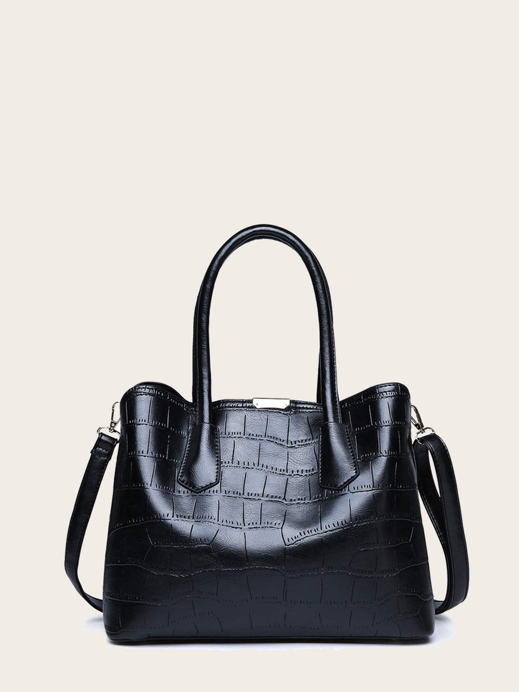Croc Double Handle Tote Bag