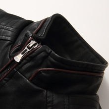 Load image into Gallery viewer, Ruggeiro Leather Jacket