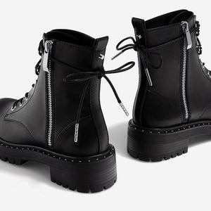 Hayley Leather Boots