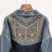 Load image into Gallery viewer, Merilin Western Denim Jacket