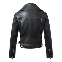 Load image into Gallery viewer, Deviola Leather Jacket