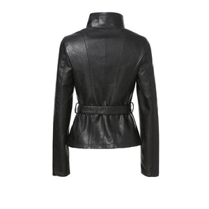 Hellebore Leather Jacket With Belt