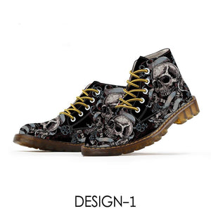 Bogori Collection - Skull Boots