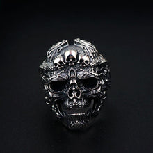 Load image into Gallery viewer, Skull Emperor Ring