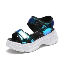 Load image into Gallery viewer, Maia Holographic Sandal