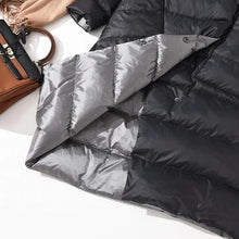 Load image into Gallery viewer, Charlotte Double-Sided Puffer Coat