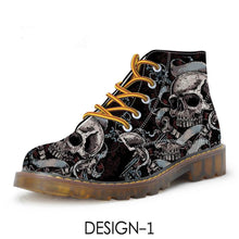 Load image into Gallery viewer, Bogori Collection - Skull Boots