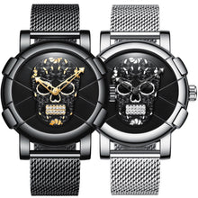 Load image into Gallery viewer, DeFiore Superb II - Sugar Skull Watch Mesh