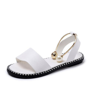 Julione Pearl Slip-On Sandals