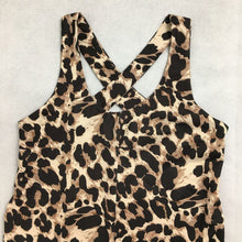 Load image into Gallery viewer, Leopard Print Activewear Jumpsuit